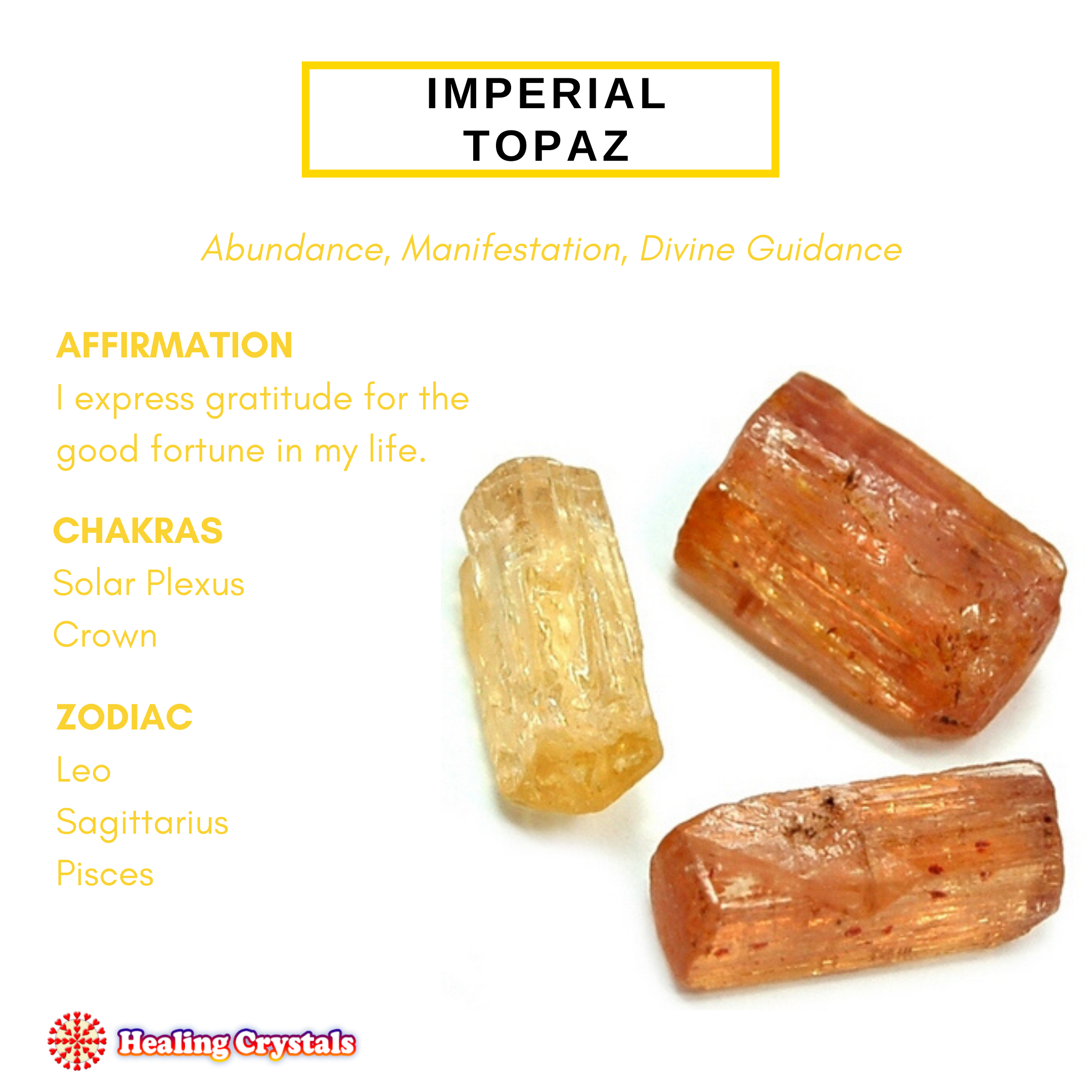 Crystal of the Month - Imperial Topaz