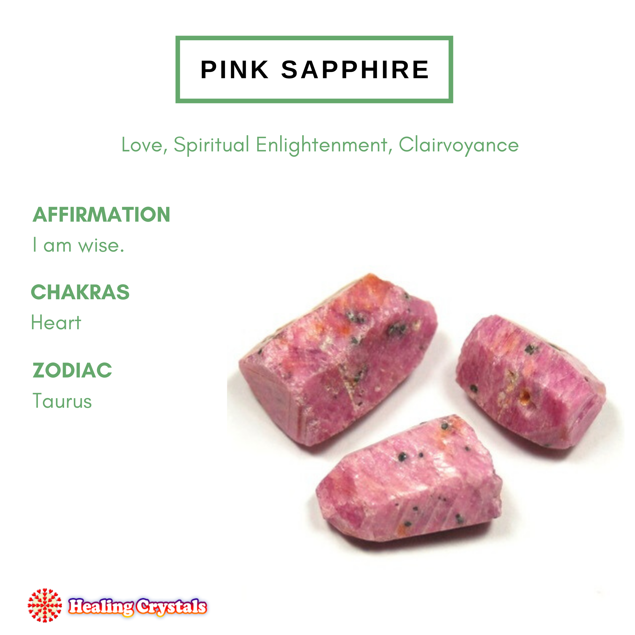 Crystal of the Month - Pink Sapphire