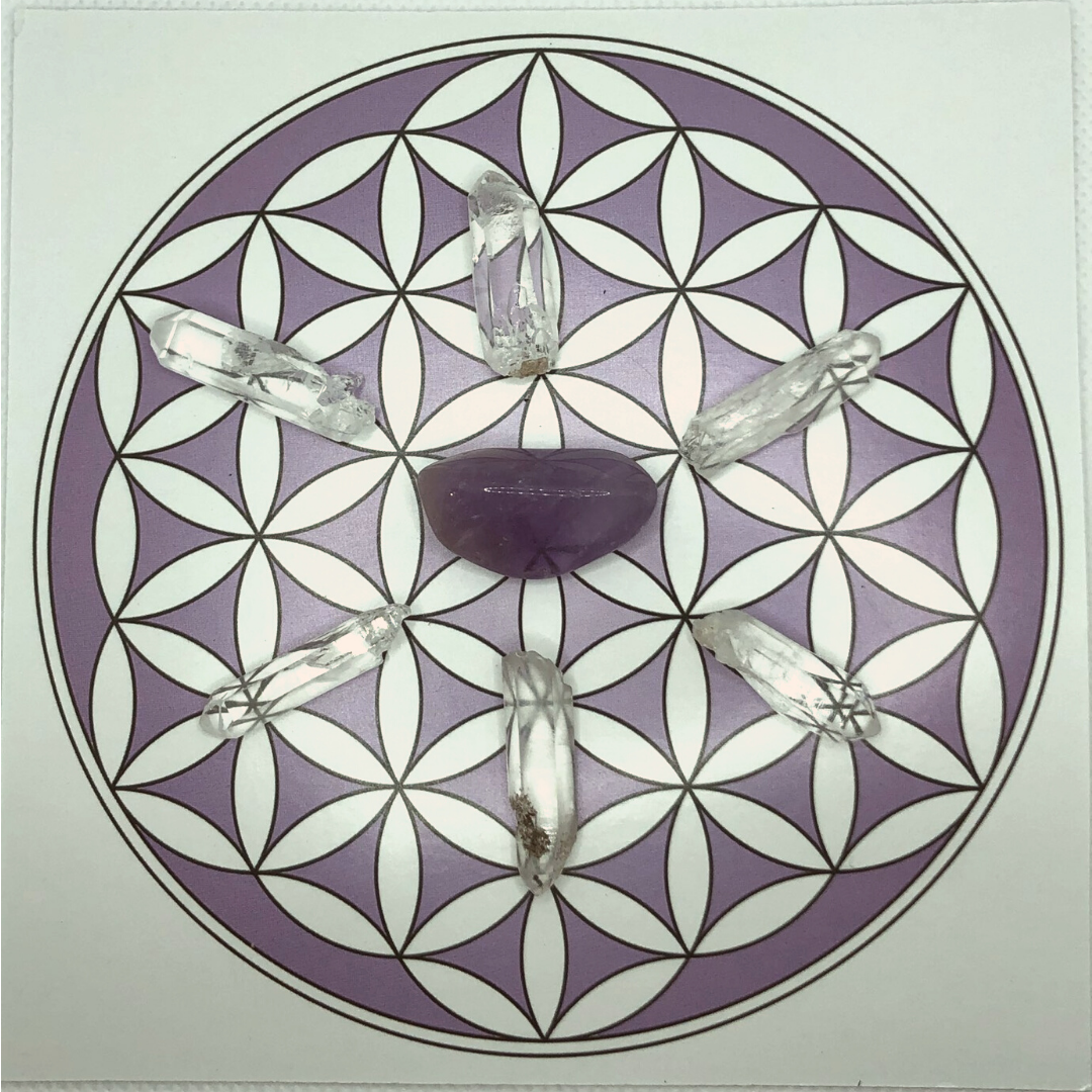 A Crystal Grid for Healing