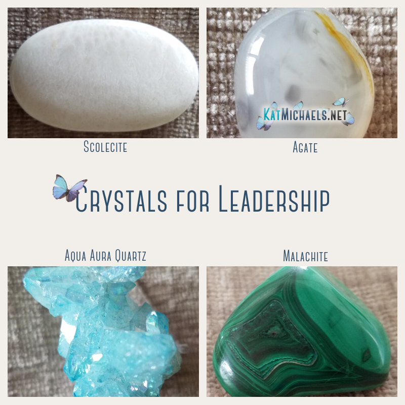Crystals for Leadership by Kat Michaels