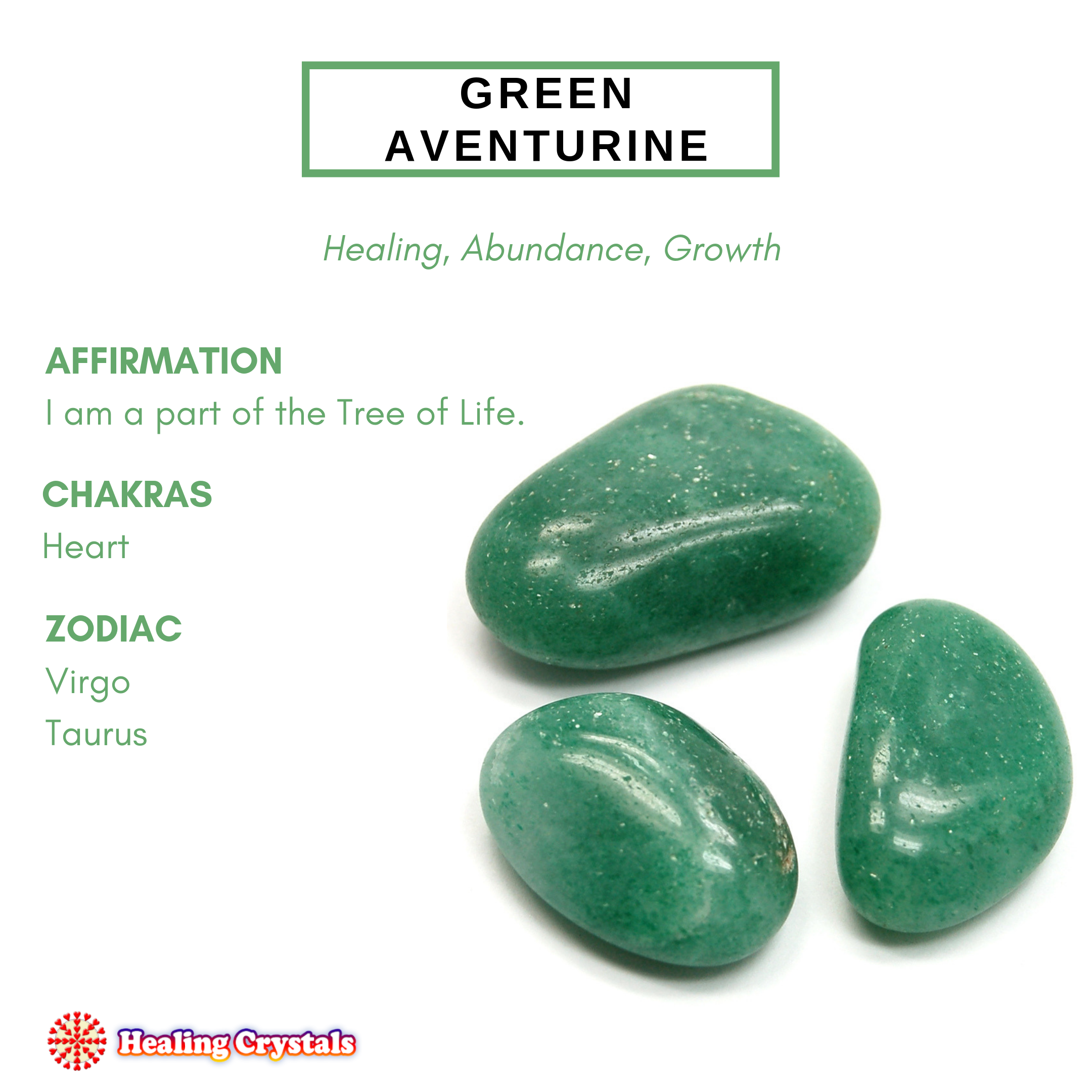 Crystal of the Month - Green Aventurine