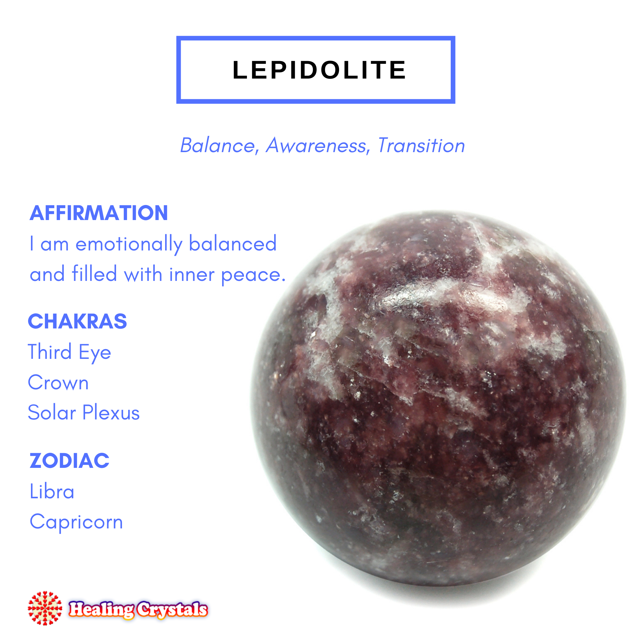 Crystal of the Month - Lepidolite