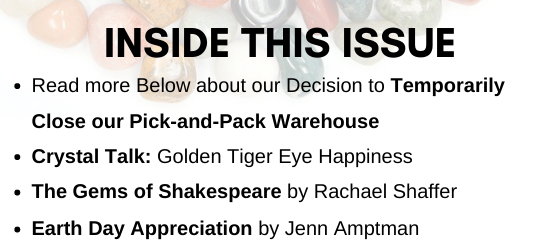 Inside this Issue April 2020 Newsletter