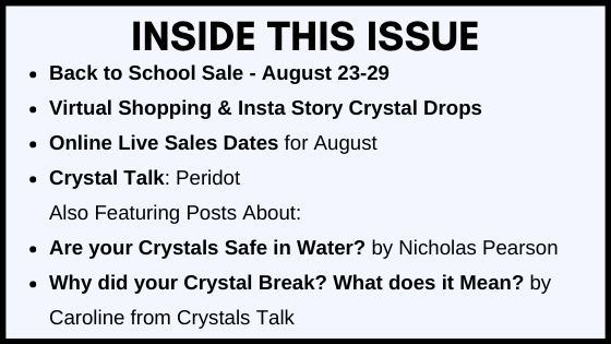 Inside this Issue August 2021 Newsletter