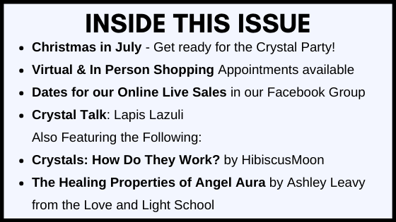 Inside this Issue July 2021 Newsletter