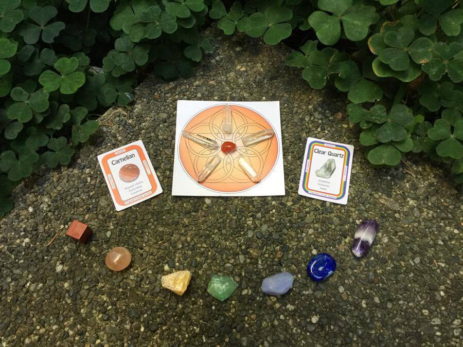 A Crystal Grid for Vitality